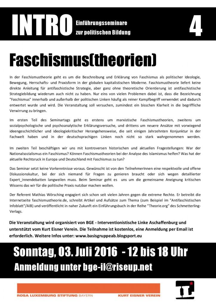 INTRO Faschismustheorien